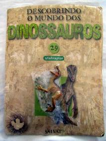 Miniatura Descobrindo O Mundo Dinossauros 29 Utahraptor