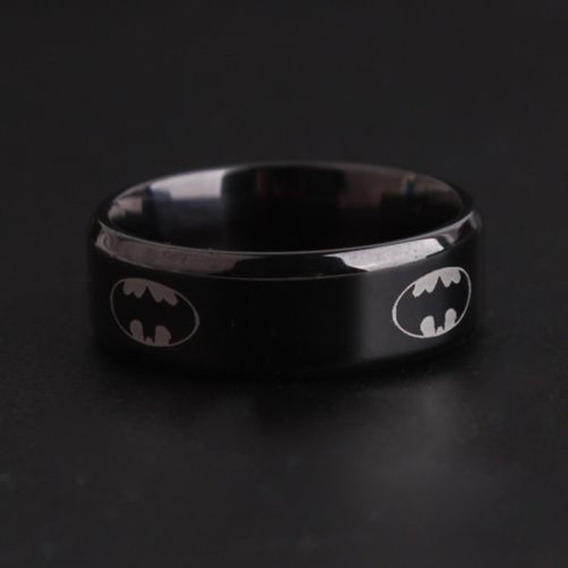 Anillo Batman Acero Inoxidable