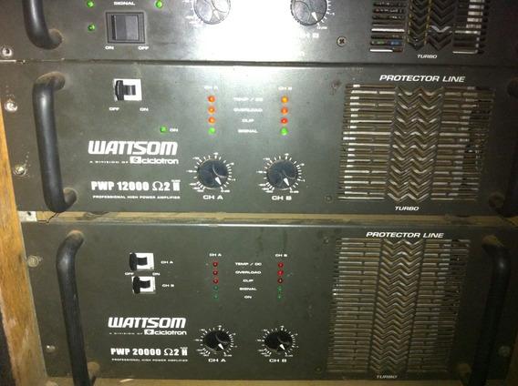 Amplificador / Potencia Wattsom Pwp Ciclotron 12000 2ohm