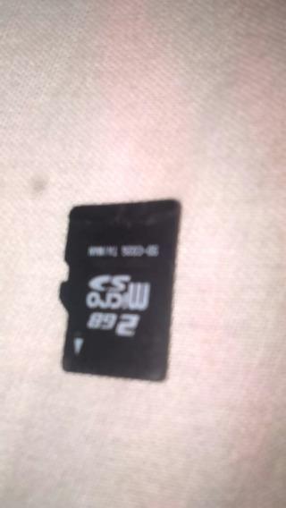 Cartão Micro Sd 2gb