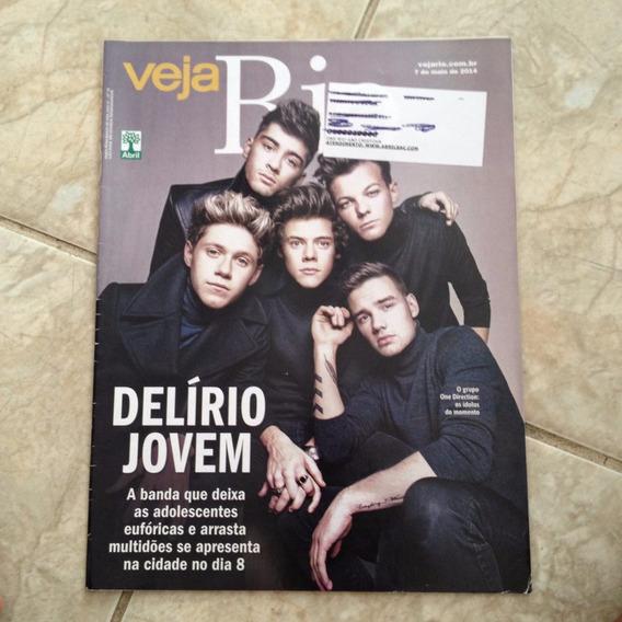 Revista Veja Rio 7/5/2014 Grupo One Direction Música Jovem