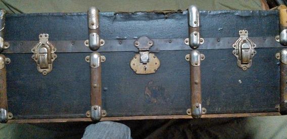 Bau Mala Caixa Antiga Madeira Antiquidade Malao Harry Potter