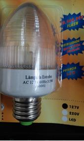 Mini Strobo 110 Volts - Branca - Automática