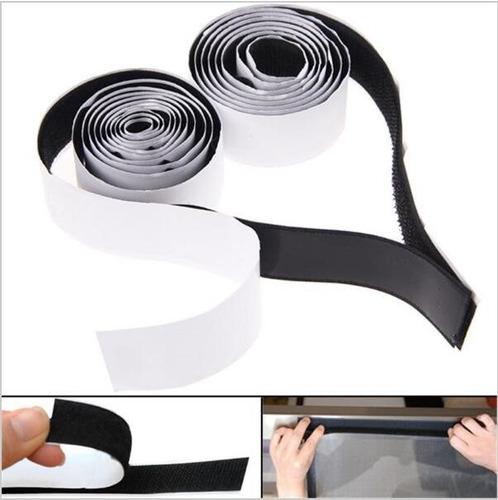 Velcro Autoadhesivo Blanco O Negro 5 Cm De Ancho Por Metro