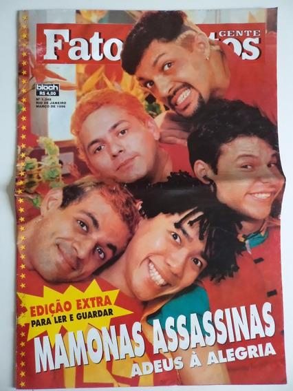 Revistas Fatos E Fotos Mamonas Assassinas