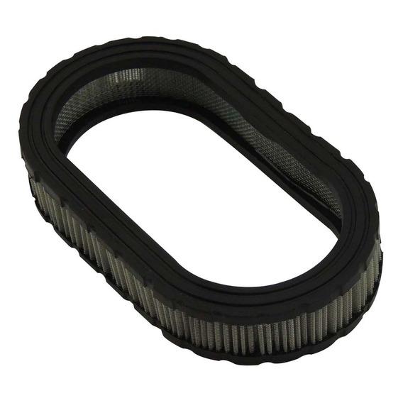 Filtro Oval Esportivo Elemento Filtrante Marmita 40mm Prata