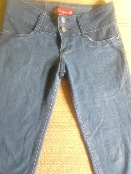 Calça Jeans Feminina Com Lycra 40 Biotipo