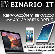 Reparación Mac / Macbook Pro / Air - Iphone - Refacciones