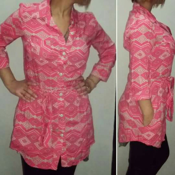 Camisola Rosa Camisa