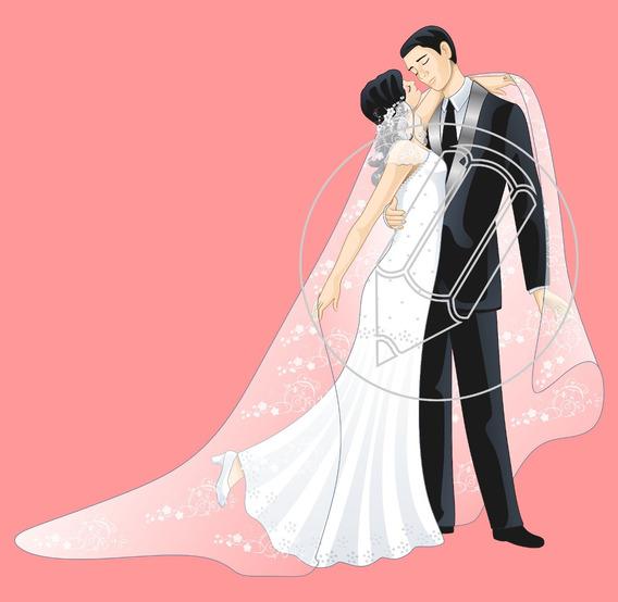 Convites De Casamento Vetores Corel E Png Para Imprimir