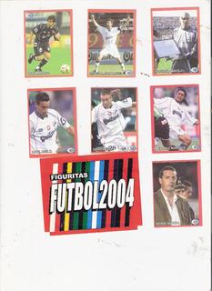 Lote Figuritas Futbol Quilmes Completo - 2004 Interior