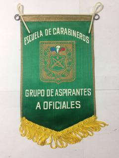 Banderin Escuela Carabineros Aspirantes A Oficiales
