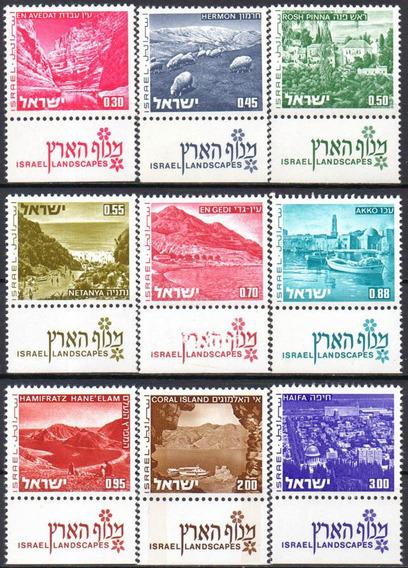 Israel - Paisagens - 1971 A 1975 - C/tab
