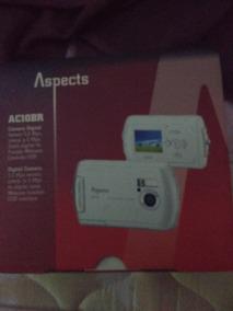 Camera Digital Ac10br Aspects Completa 1gb Carregador