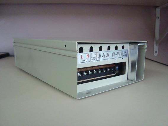 Carregador De Baterias 12v 20a - 127/220 V P/geradores, Qta
