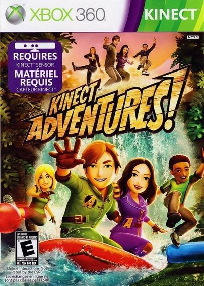 Jogo Kinect Adventures X360 Adventure Mídia Física Nota Fisc