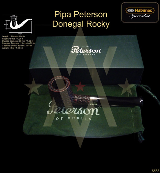 Pipa Peterson Donegal Rocky - Tabacos - Cigarros - Regalos