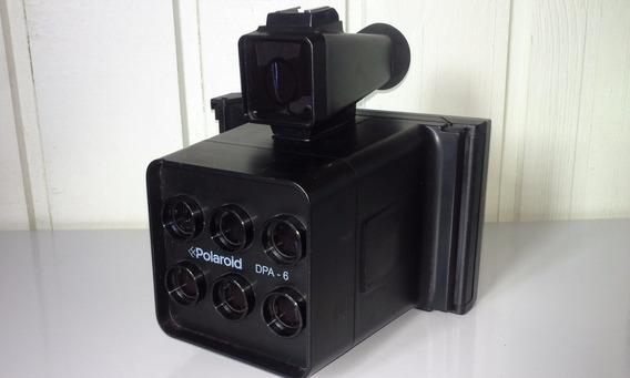 Modelo Raro De Camera Polaroid De 6 Lentes Modelo Dpa - 6
