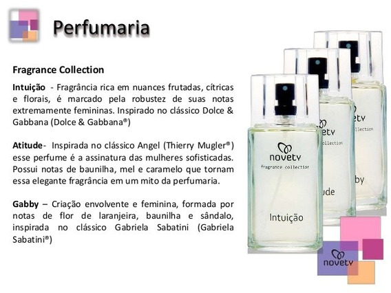 Perfumes Fragrance Collection Novety