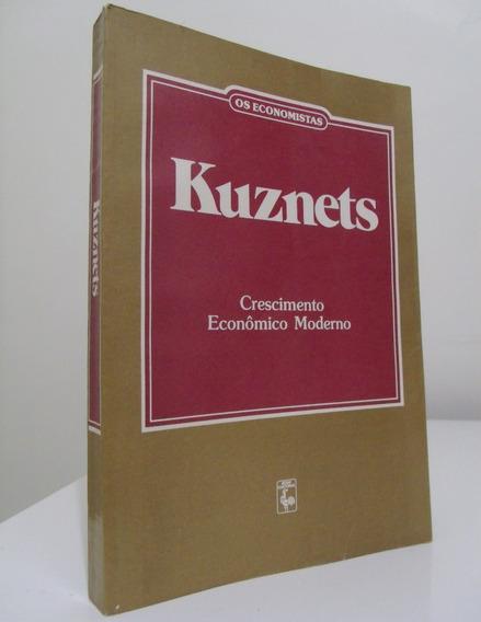 Livro - Crescimento Econômico Moderno - Simon Kuznets