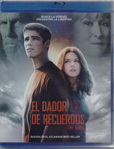El Dador De Recuerdos The Giver Pelicula Blu-ray