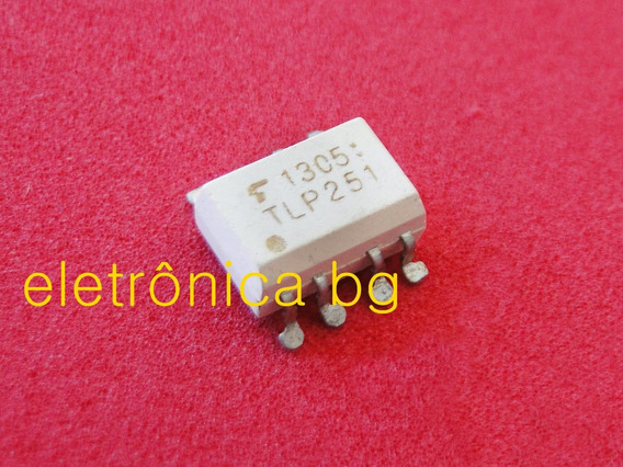 Tlp251 Tlp 251 Dip8 Optoacoplador 8 Pinos | Kit Com 5 Peças