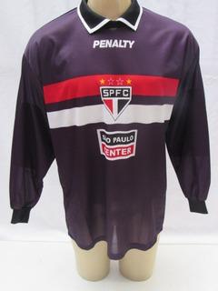 Camisa De Futebol De Goleiro São Paulo Center #1 Penalty Sc4