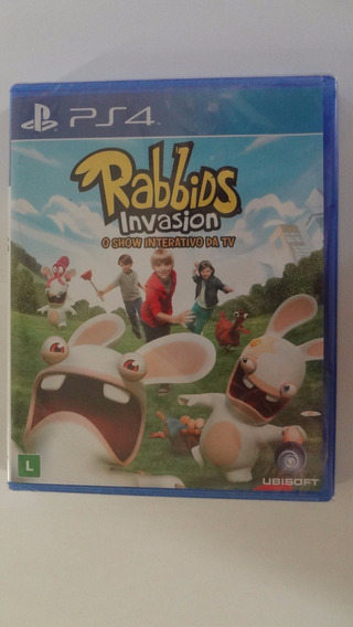 Rabbids Invasion Ps4 Novo E Lacrado