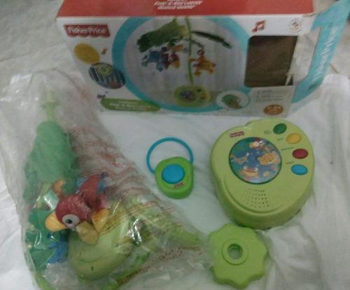 Mobile Fisher-price Rainforest Como Novo!!!! Em Box