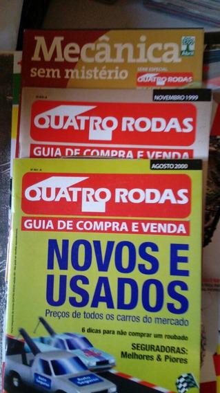 Revista Quatro Rodas Lote Com 3 Especiais