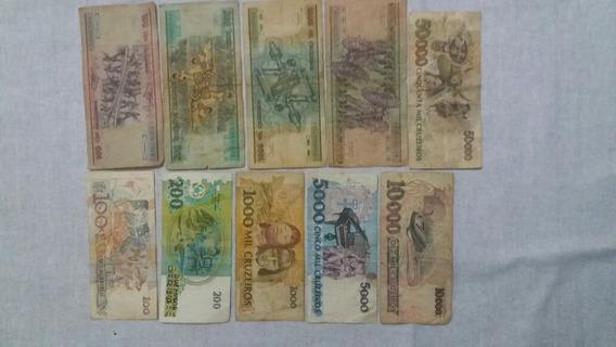 Dinheiro Antigo Para Colecionadores 10 Unidades
