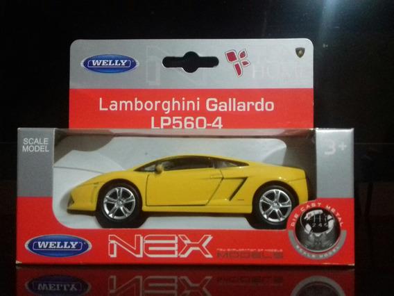 Miniatura Lamborghini Gallardo - Welly (12cm) - Escala 1:32