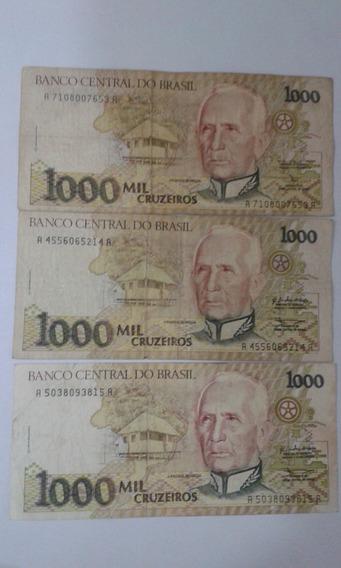 Cédula De 1000 Mil Cruzeiros