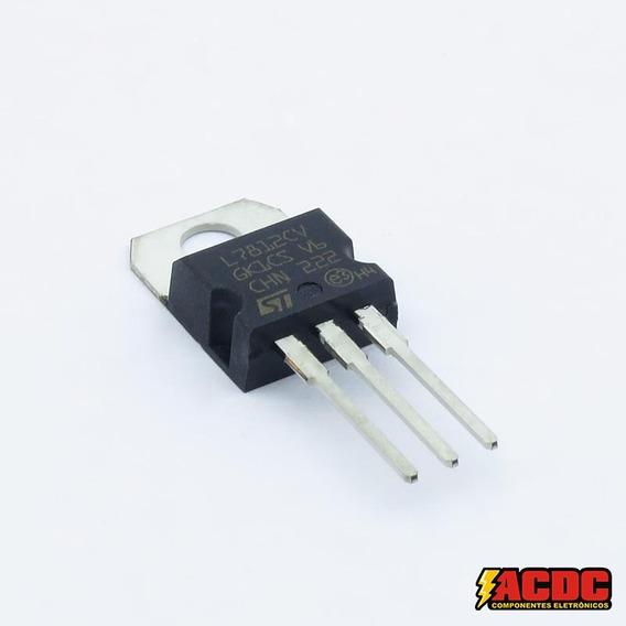 10 Pçs Circuito Integrado Regulador- Ci Lm 7812