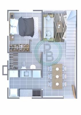 Ciudad Juan Bosch Pequeño Burgues Duplex 3hab3baños Terraza
