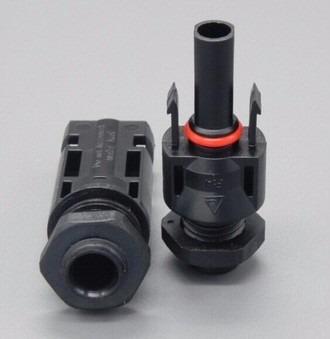 10 Par Mc4 Conector De Rosca Para Caixa E Painel 2,5-6mm²