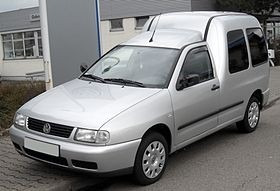 Manual De Despiece Volkswagen Caddy 1996-2004, Español