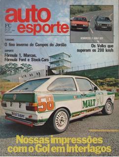 Auto Esporte Nº247 Gol Marcas Tanger Buggy Golf Gti Scirocco