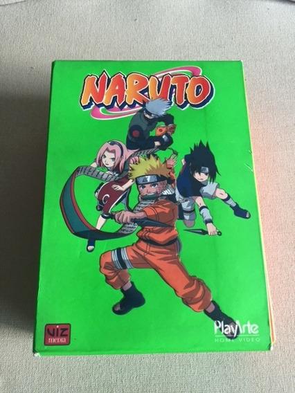 Box 02 E 03 Naruto - 10 Dvds - De 06 Ate 15 - Impecavel