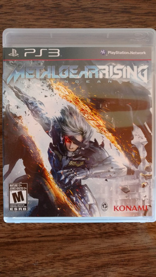 Metal Gear Rising: Revengeance Mídia Física Ps3 Original !