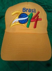Gorra De Futbol- Brasil 2014