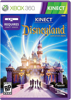 Kinect Disneyland Adventures Xbox 360 - Perfecto Estado