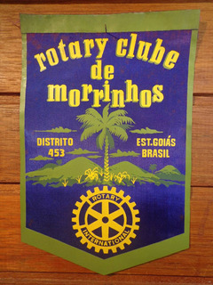 Antiga Flâmula Rotary Morrinhos - F 0240