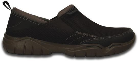 Zapato Crocs Caballero Swiftwater Mesh Moc Café