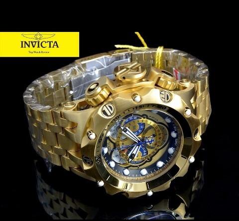 Relógio Invicta Venom Hybrid 18k 16805 C/garantia Promoção