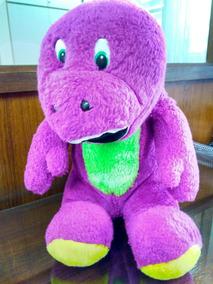 Pelúcia Barney 34cm (cor Rosa Pink) Usado Ler Anúncio Hb15@