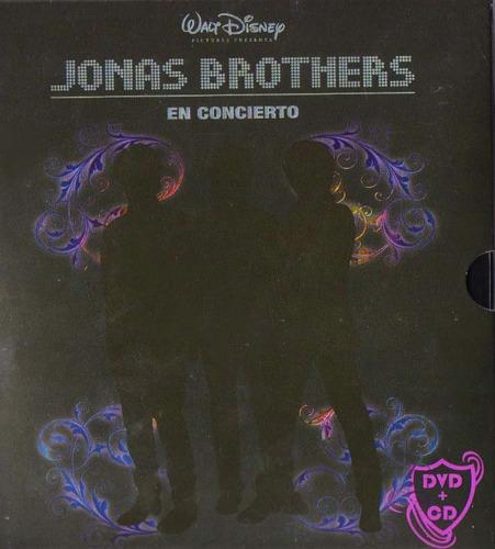 Jonas Brothers En Concierto (dvd Y Cd) Nuevo Y Original