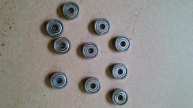 Rolamento 623 Zz Kit Com 10 Peças 3x10x4