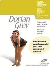 3 Pantimedias Dorian Grey Super Talla Con Lycra