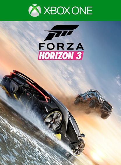 Forza Horizon 3 Xbox One E Windows 10 - Codigo 25 Digitos